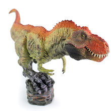 HIINST Tyrannosaurus Rex Dinosaurus Action Figure Met Base Diermodel Speelgoed Collector 19APR25 P35(China)