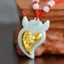 Angel Jade Pendant Necklace For Child baby women love Birthday Gift Pendants High Quality