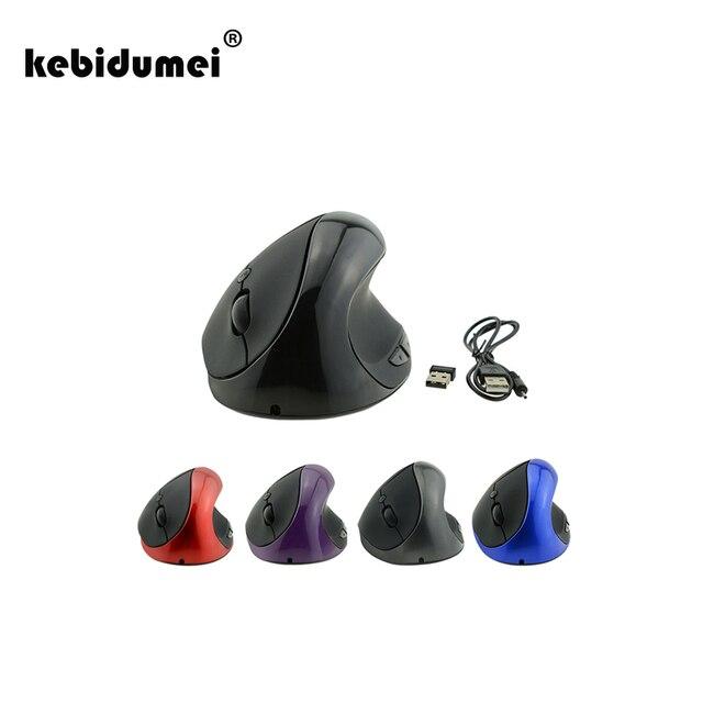Kebidumei 2018 New 2 4g Optical Wireless Mouse Ergonomic Mouse 6