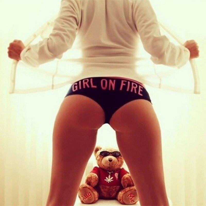 Girl On Fire Women Sexy Panties