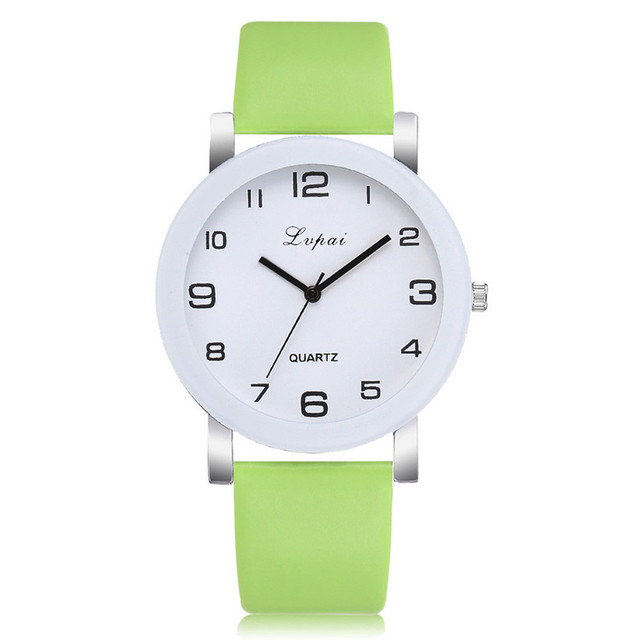Lvpai Brand Quartz Watches For Women Luxury White Bracelet Watches Ladies Dress