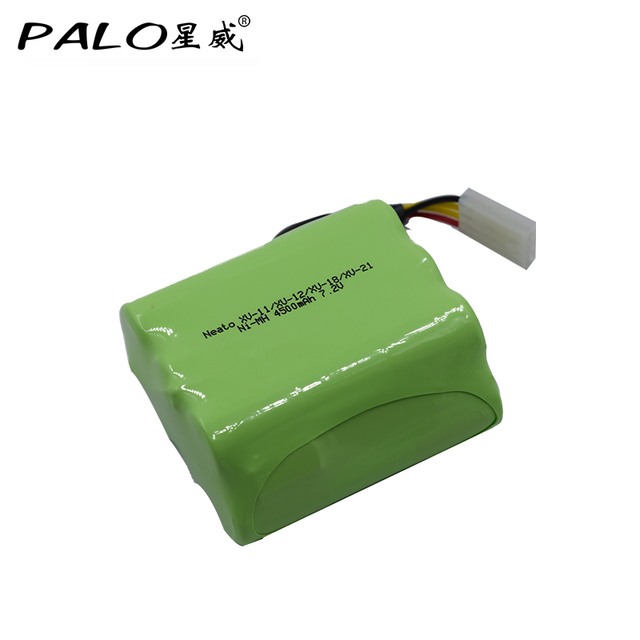 Vacuum Sweepper Robot New Type Battery 7 2v Nimh 4500mah Rechargeable Pack For Neato Xv Series Proxv 11 12 28 Ect