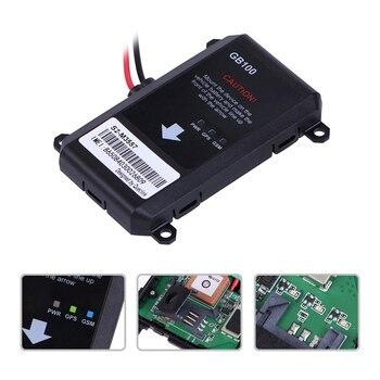 Universale Dell'automobile Del Veicolo Di GPS Tracker GB100 Assicurazione Impermeabile IP65 8 V A 32 V Batteria Montata Dispositivo GSM GPS Telematica Localizzazione