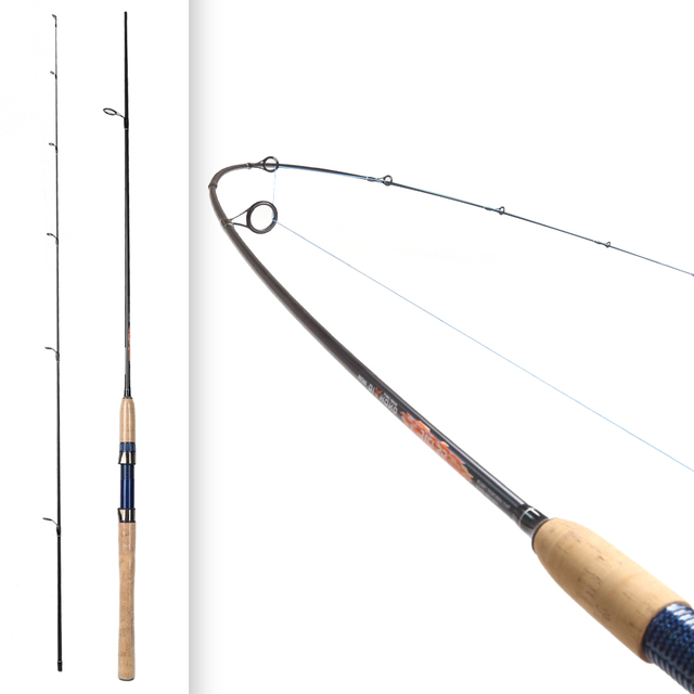 2.28m fast Spinning Baitcasting Fishing Rods M Actions 10-30g light Lure Weight Lure BASS Fishing Rod