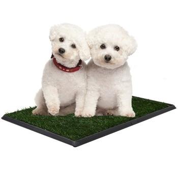 Perro inodoro cesped hierba almohadilla entrenamiento sistema de bano para mascota perro lavable interior PS6218