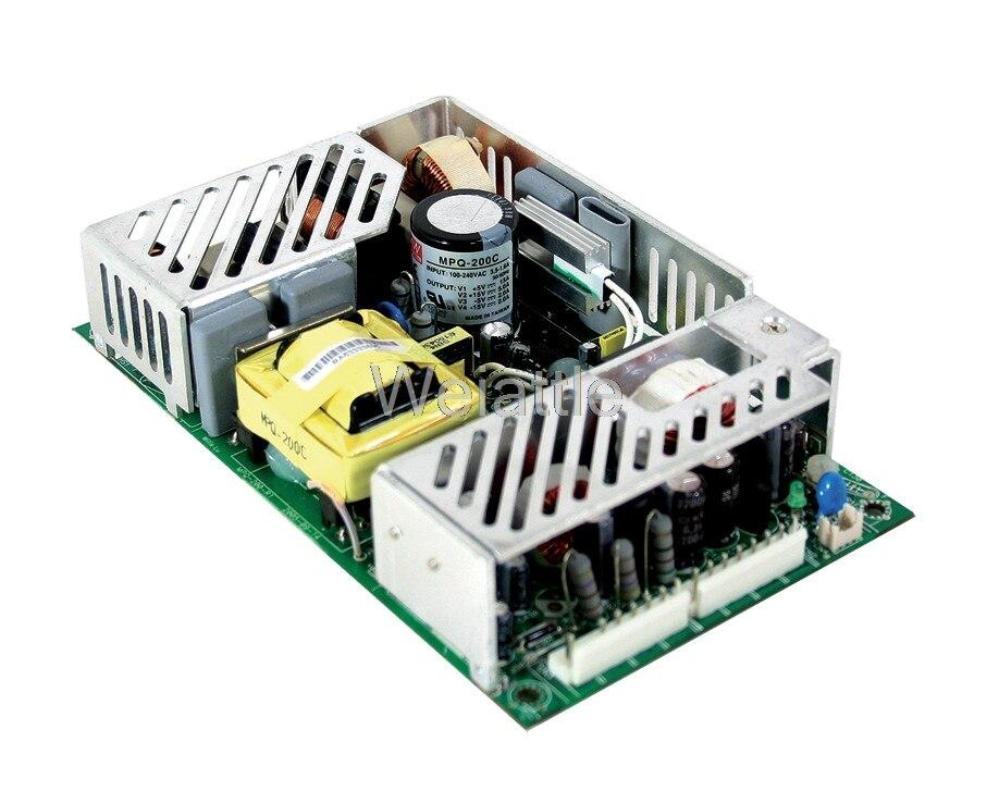 Здесь можно купить  MEAN WELL original MPQ-200C meanwell MPQ-200 200W Quad Output Medical Type  Электротехническое оборудование и материалы