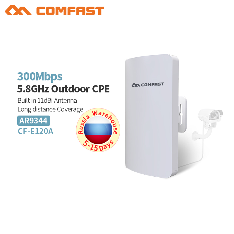 все цены на Outdoor CPE Router 5.8G 1-3KM Wifi Bridge Wifi Repeater Wifi Extender Access Point For IP Camera 11dBi WI-FI Antenna Nanostation