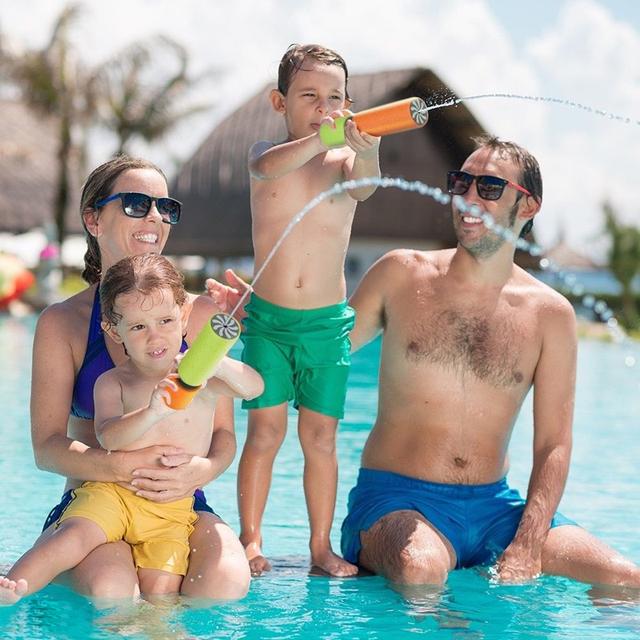 2PC Water Gun Pool / Beach Toy EVA Foam