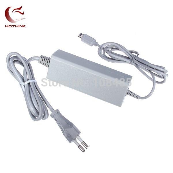 HOTHINK EU Plug Power supply AC Adapter charger For Wii U Gamepad WiiU controller 110V-220VHOTHINK EU Plug Power supply AC Adapter charger For Wii U Gamepad WiiU controller 110V-220V