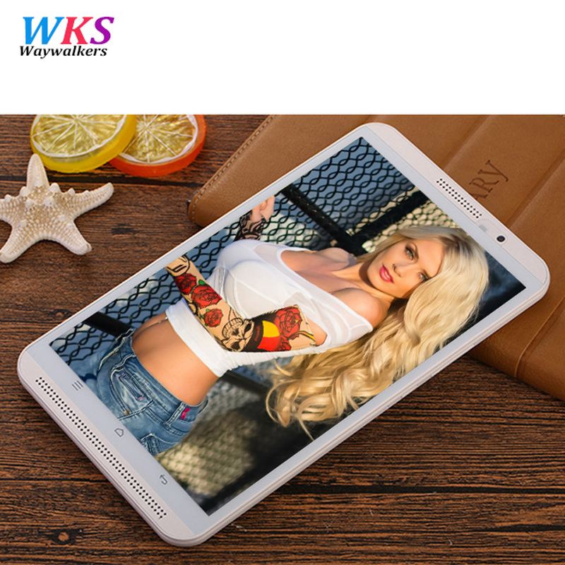 2017 newest waywalkers 8 inch tablet pc K8 Octa Core Android 5 1 Tablet pcs 4G
