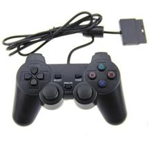 Fashion Design Black Gaming Controller For Playstation 2 PS2 Popular Player Hot