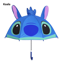 hot deal buy lovely cartoon patterns umbrellas kids  kindergarten children paraguas parasol lovely boys and girls umbrellla umbrellas-01