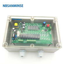 NBSANMINSE MCY - 64 , 20L Wall Mounted Type Pulse Jet Valve Controller PCB Strong Antijamming Working Capability