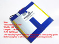 7.4V,7200mAH,[43110118] PLIB ( polymer lithium ion battery ) Li-ion battery for tablet pc,mp4,cell phone,speaker,PIPO M3