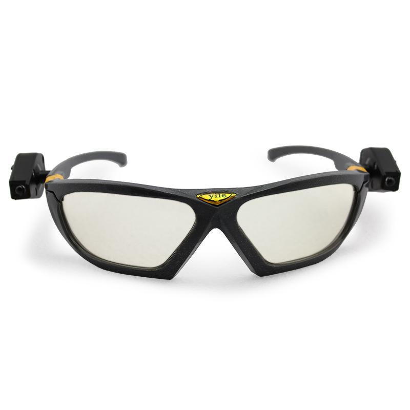 2pcs/lot led light reading glasses Night vision goggles High brightness  industrial work safety Night riding Repair the c dream vision 3d glasses edge 1 2 by volfoni