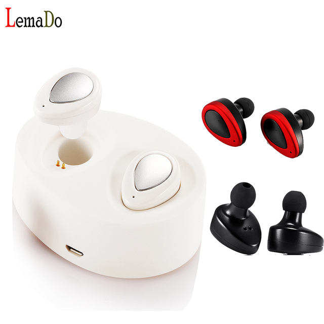 Hot! Lemado TWS wireless earphone HD microphone play music voice recording and dialing for iphone 7 plus Xiaomi Phone