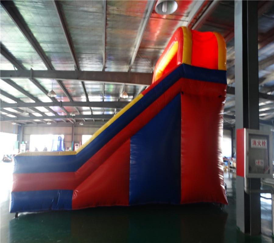 Hot sale Biru merah PVC slide tiup slide slide tanah berkualitas - Hiburan - Foto 5