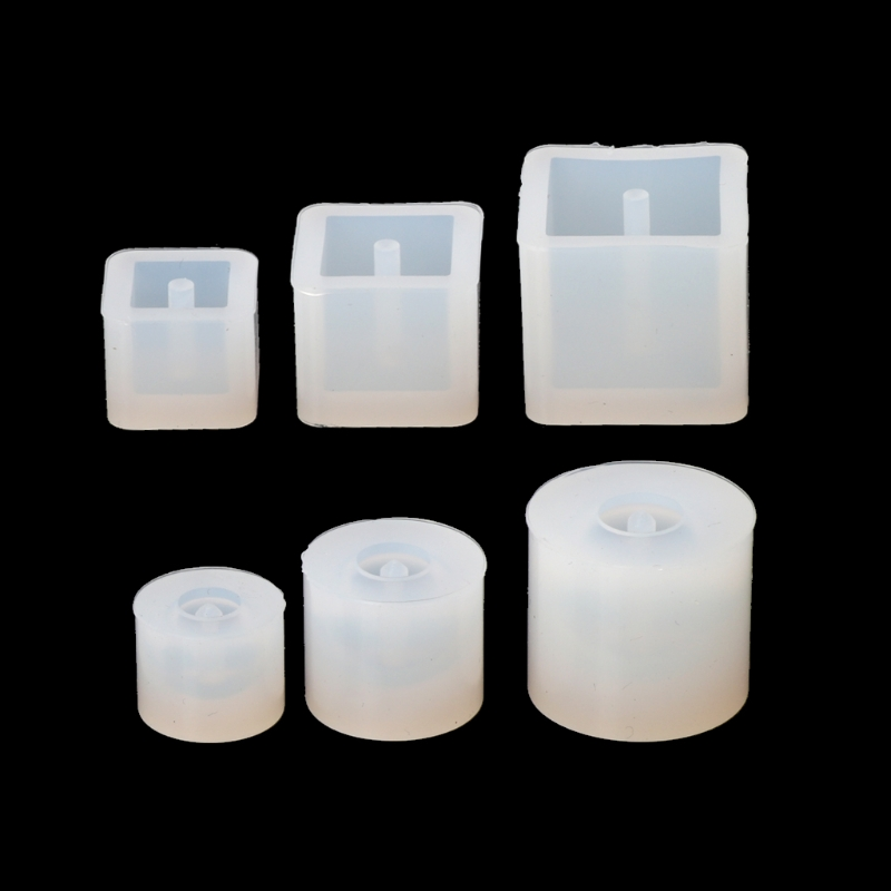 6pcs Silicone DIY Beads Mold Bracelet Earring Pendant Jewelry Making Resin Mould  Jewelry Crafts Resin Molds