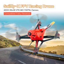 Sailfly-X 105mm Crazybee F4 PRO 2-3S Micro FPV Racing Drone PNP BNF with 25mW VTX 700TVL Camera and Receiver EX1102 8500KV Motor