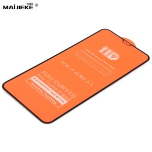 Image 3 - 10PCS 11D Tempered Glass For iPhone 11 pro max screen protetor For iPhone XXS Max XR 8 7 6s 6 plus Screen Protector Film