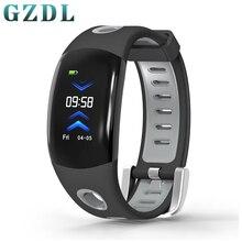 GZDL Unisex Bluetooth Samrtband Watch Health Sport Wristband Heart Rate Monitor Remote Camera Stopwatch WT8243