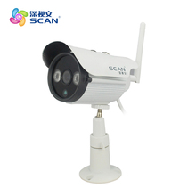 1.0mp 720p Wi Fi Bullet Ip Camera Outdoor Onvif 2.0 Security Surveillance White Webcam Waterproof Cctv Freeshipping Hot Sale