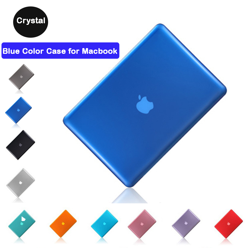 "Key Cover 3 in 1 Crystal AQUA BLUE Case for Macbook PRO 13/"" LCD Screen"