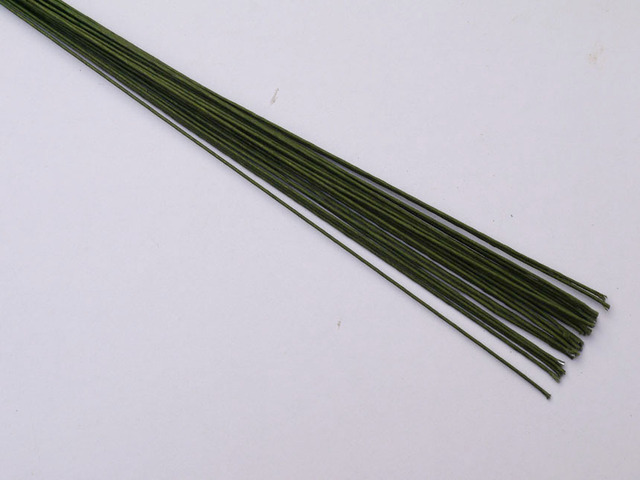 20gauge green florist wire Double sugar cake sugar flowers wire DIY ...