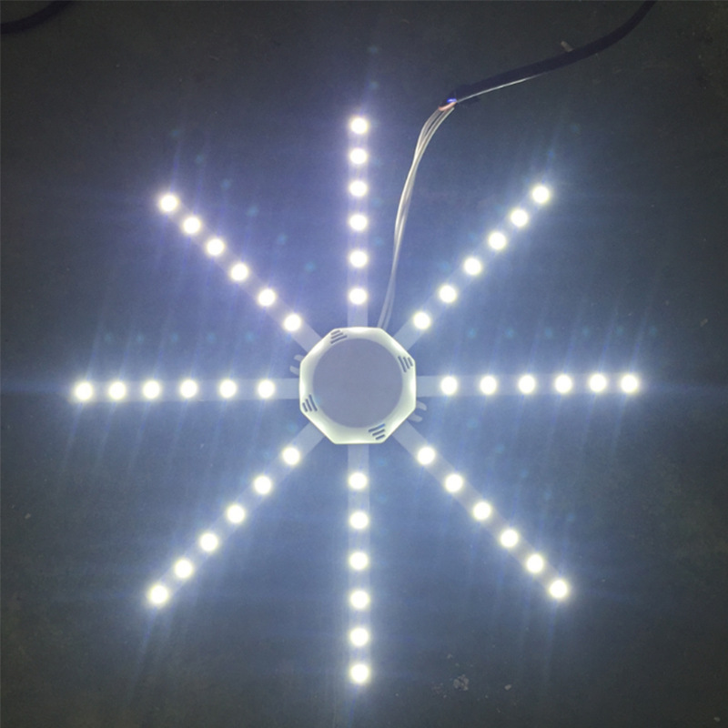 220V LED Wall Lamp 12W 16W 20W 24W 5730SMD Octopus lamp board ceiling lamp retrofit light board for Bedside Room Bedroom Arts in Wall Lamps from Lights Lighting