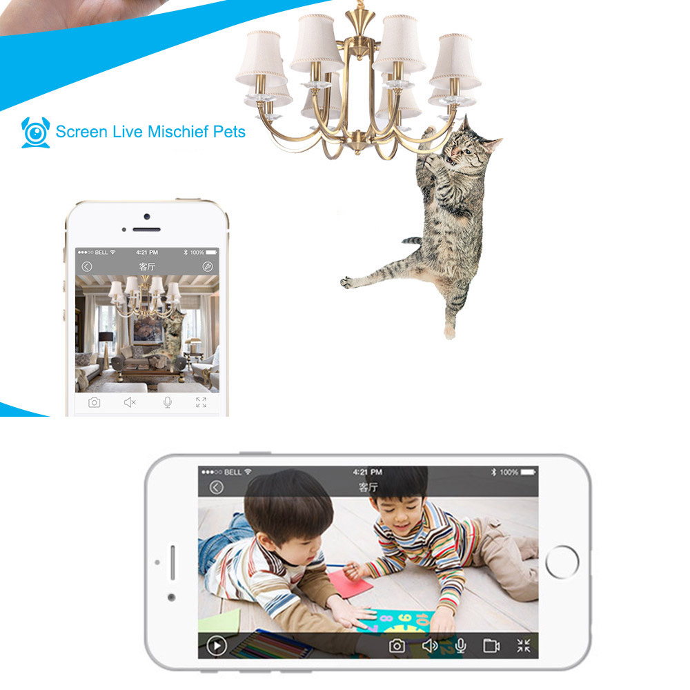US $27 8 30% OFF|Podofo Wireless 720P Baby Monitor Intelligent Alerts  Nightvision Intercom Support IOS Android Video Babyfoon Security IP  Camera-in