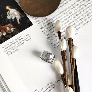 Image 5 - LouLeur 925 sterling silber kaiserin avatar ringe silber mode vintage figur zeigefinger offene ringe für frauen edlen schmuck