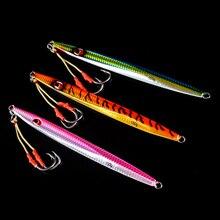 Luminous lead fish 80g 150g 175g 280g pesca lure luminous jigging lure with hooks
