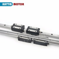 EU Delivery! Linear guide rail TRH20 500mm/800mm with 4 pcs of linear block carriage TRH20B CNC parts