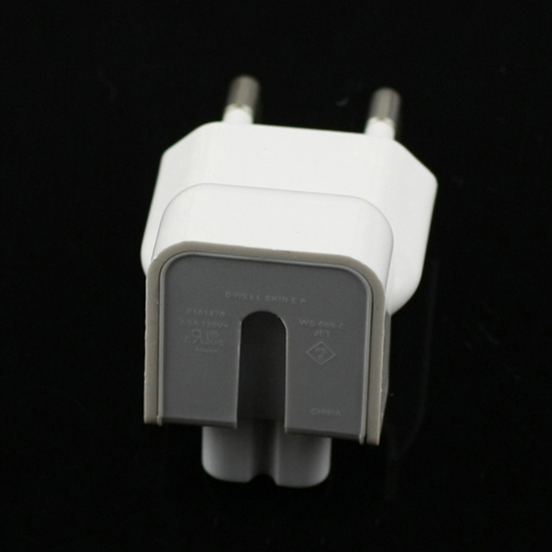 Image 3 - Wholesale 100PCS/Lot Duckhead AC Power Adapter For Apple iPad iPhone Charger MacBook Air European Plug Standard Socket KONSMART-in Phone Adapters & Converters from Cellphones & Telecommunications