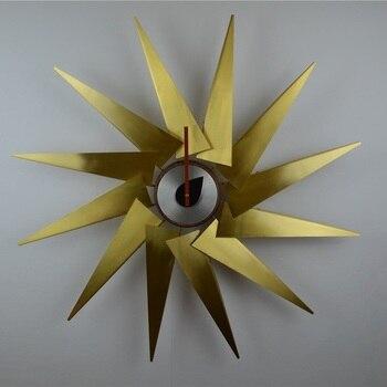 Stile nordico Classico Turbina Creativo Orologio Da Parete orologio della decorazione della Moda/76 centimetri Silenzio vendite dirette della fabbrica/Caldo/ trasporto libero