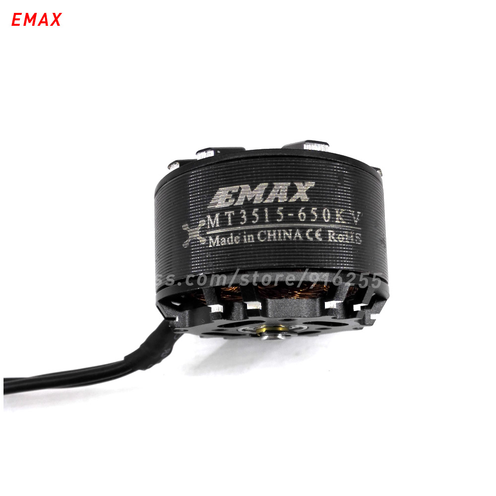 EMAX MT3515 rc 650kv motor drone brushless outrunner multi axis copter 5mm shaft for helicopter quadcopter parts 2017 dxf sunnysky x2206 1500kv 1900kv outrunner brushless motor 2206 for rc quadcopter multicopter