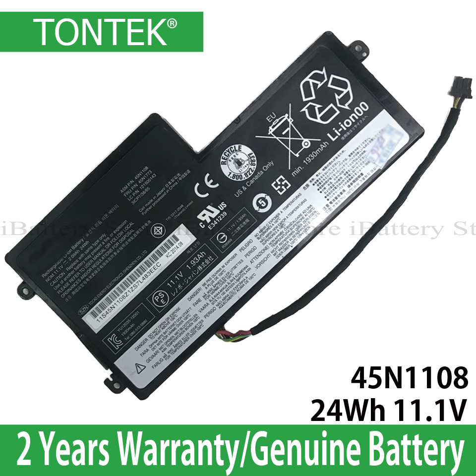 Genuine 45N1108 Battery For Lenovo ThinkPad T440 T440S T450 T450S X240 X250 X260 X270 Series 45N1109 45N1110 45N1111 45N1112