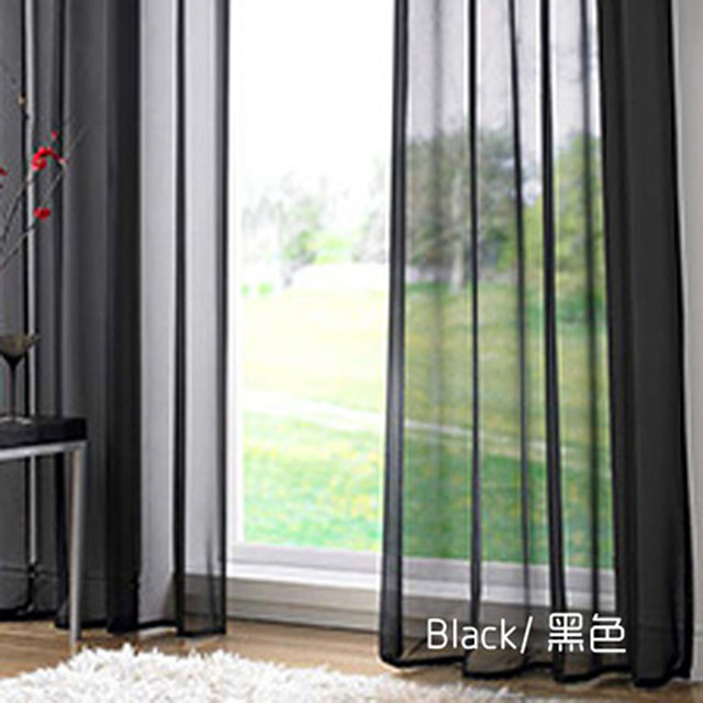 European and American Style Tulle Curtains 4
