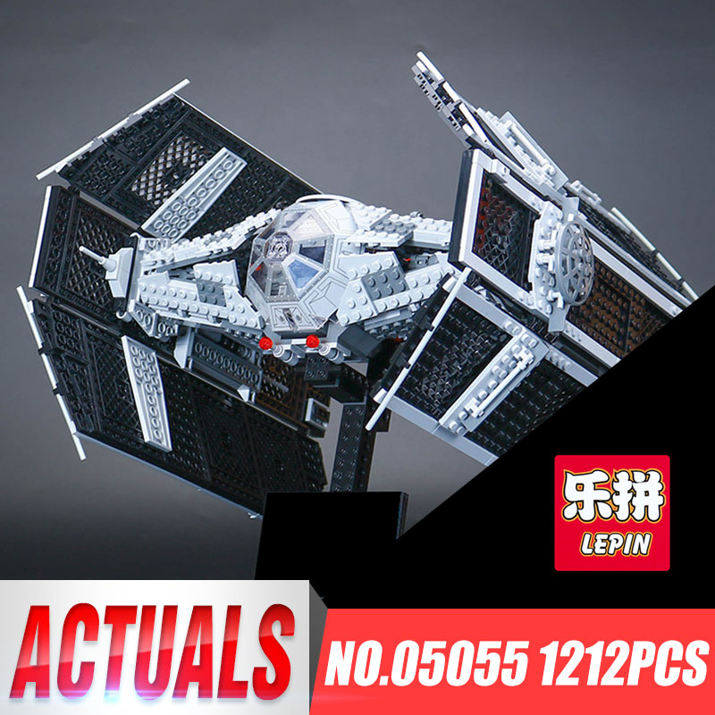 Lepin 05055 1242pcs Star Series War The Rogue USC Vader TIE Toys Advanced Fighter Set 10175 Building Blocks Bricks Education Toy herbert george wells the war of the worlds