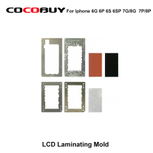 LCD laminating mold for iPhone 6G 6P 6S 6SP 7G/8G  7P/8P LCD glass OCA laminating repair Machine Mold for YMJ laminating Machine wozniak wl best high temperature resistance for apple iphone 6g 6p 6s 6sp 7 plus 7p motherboard cpu fixed clamp repair fixture