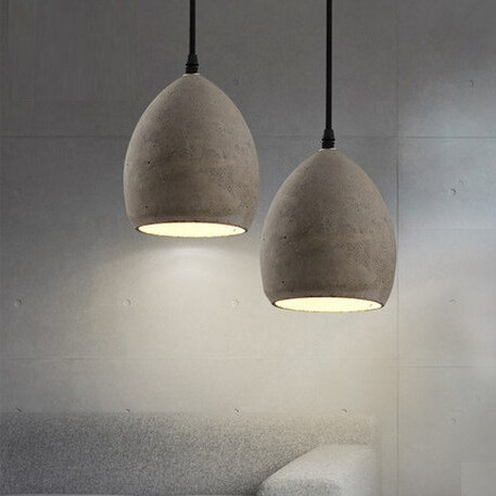 Nordic Modern Creative Cement LED Vintage Pendant Lights Fixtures For Bar Dining Room Hanging Lamp Lamparas Colgantes игрушки животных на электро радиоуправлении silverlit digibirds