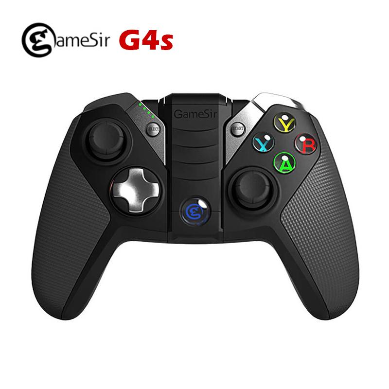 Prix pour GameSir G4s Bluetooth 4.0/2.4G Sans Fil nes Gamepad Jeu contrôleur snes 800 mAh Capacité joystick pour iOS Android PC PS3