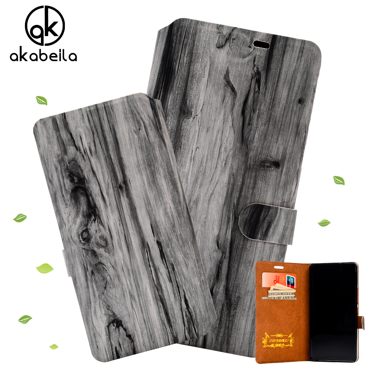 New Come Slim Wood Grain PU Leather Case for Xiaomi Mi Note 5.7 inch Wallet Style Fashion Flip Phone Cover 6 Colors Available