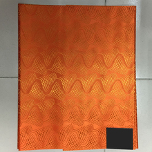 Orange Nigerian headtie/help headwrap fabric,Sego Gele African Headtie For Wedding LXL-23-8