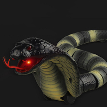 KACUU RC Remote Control Snake And Egg Rattlesnake Animal Trick Terrifying Mischief Toys for Children Funny Novelty Gifts New Hot
