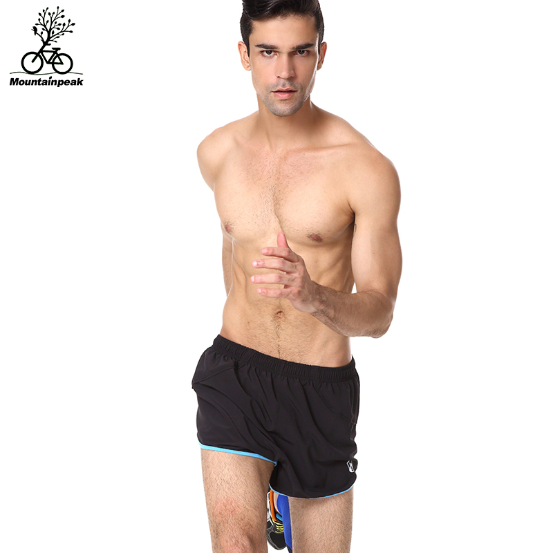 Mountainpeak Men Running Shorts Marathon Quick Dry Sports Running Shorts Male Gym Yoga Short Hot Outdoor Jogging Elastic Shorts ...