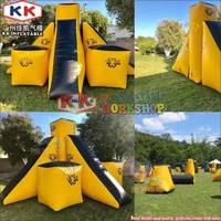 Team Building Laser Tag Paintball Bunker Games, Inflatable Archery Bunker Games for kids and Adults