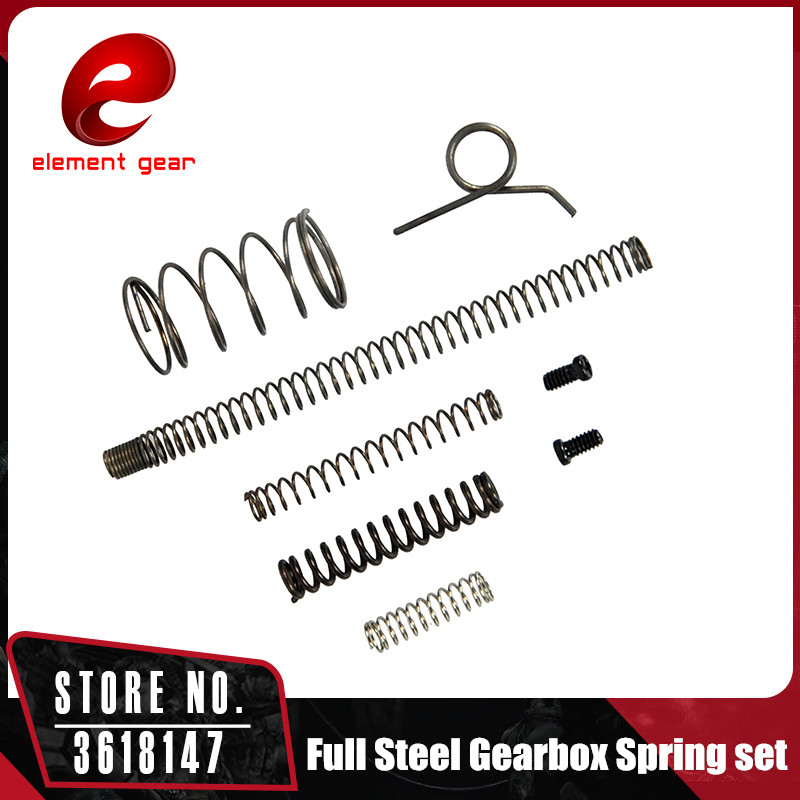 Element Full Steel Gearbox Spring Set For TM Hi-Capa GBB Gun Accessories