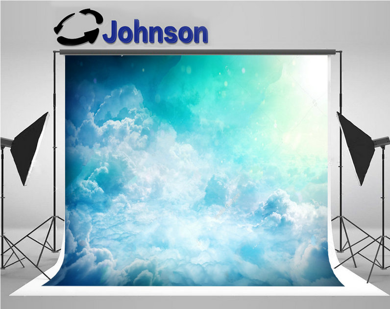 sky Clouds Fantastic Sunlight Beams photography backgrounds Vinyl cloth High quality Computer print wall backdrop