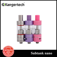 Original Kanger Subtank Nano Atomizer Pyrex Tank  OCC Coil 3.0ml Airfilow System Subtank Nano Tank